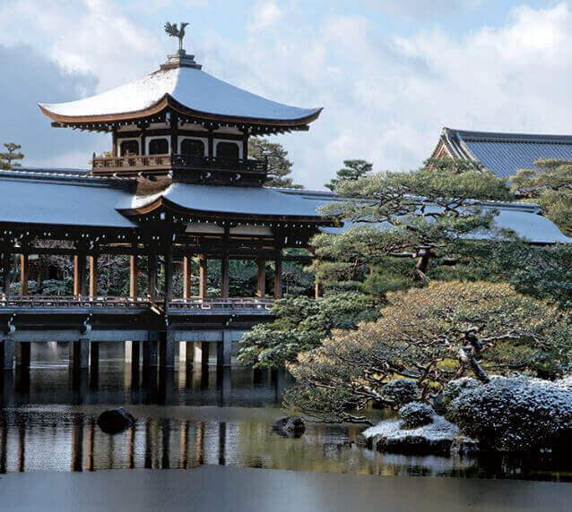 12月 平安神宮(京都) 日本の美 2022年カレンダーの画像