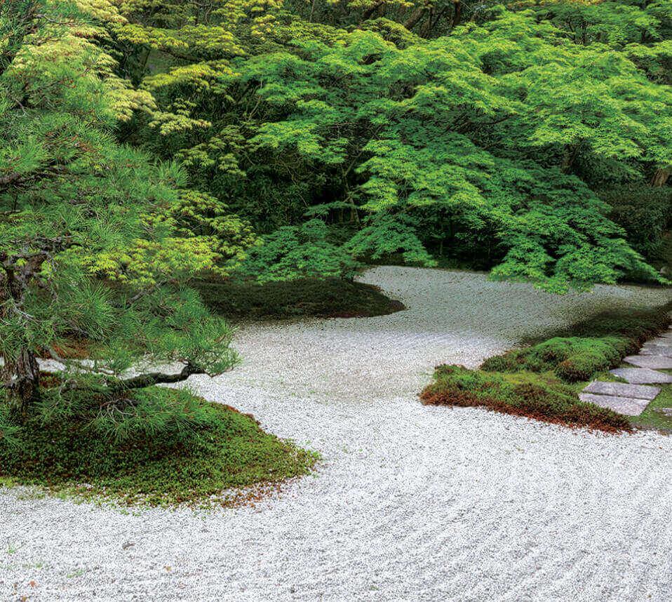 7月 天授庵(京都) 日本の美 2022年カレンダーの画像