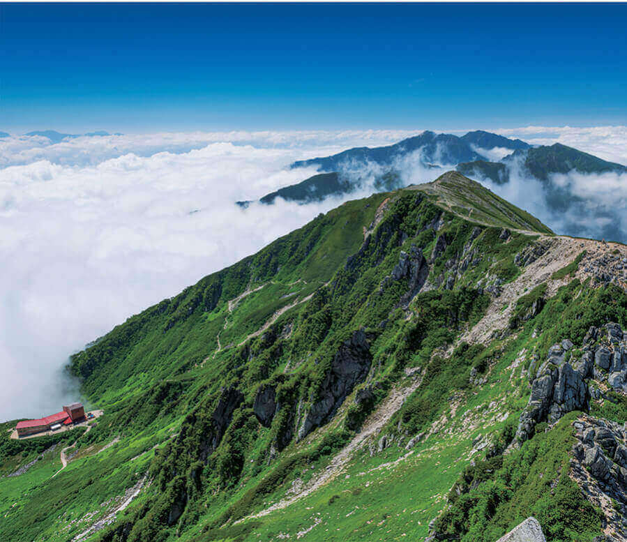 8月 空木岳(長野) 日本の朝 2022年カレンダーの画像