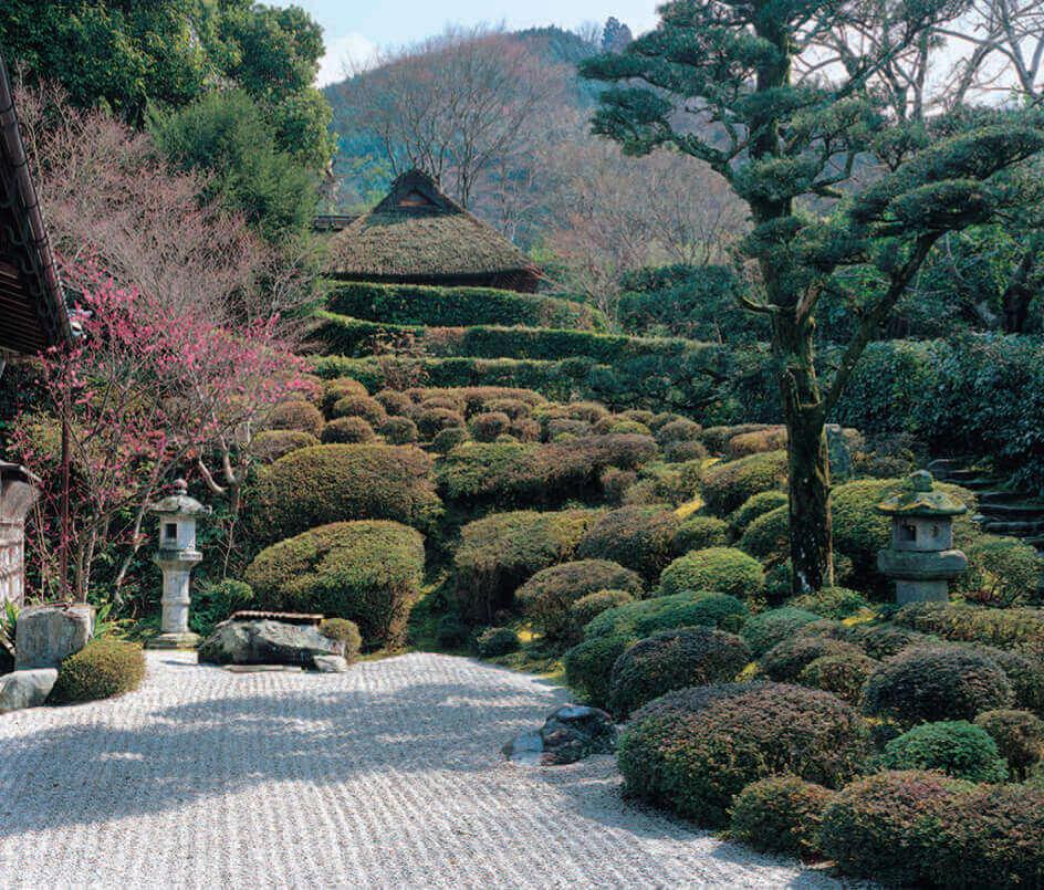 1-2月 金福寺(京都) 四季の庭 2022年カレンダーの画像