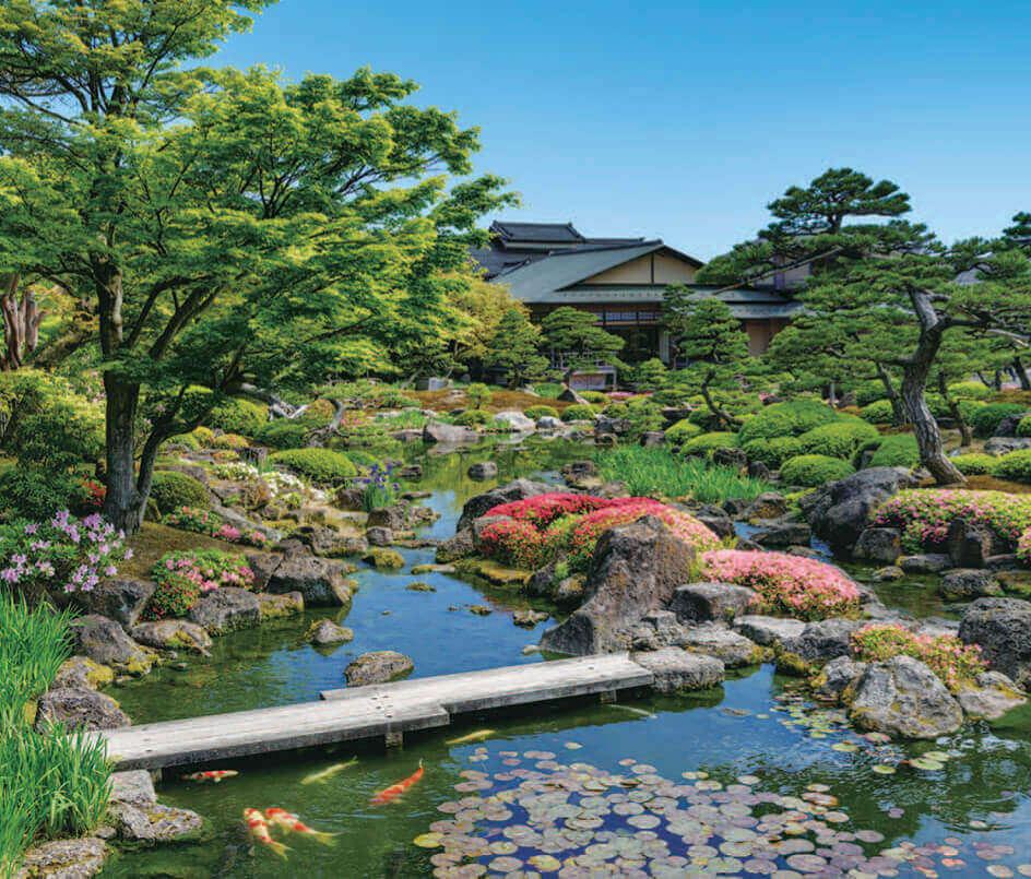 5-6月 由志園(島根) 四季の庭 2022年カレンダーの画像