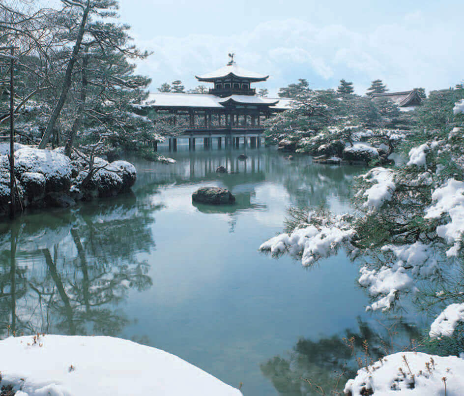 11-12月 平安神宮(京都) 四季の庭 2022年カレンダーの画像