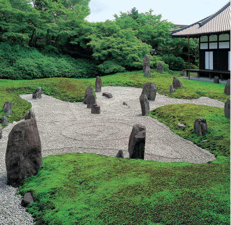 7-8月 光明院(京都) 庭(フィルムカレンダー) 2022年カレンダーの画像
