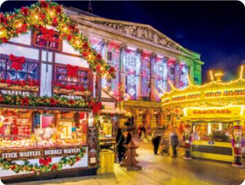 11-12月 ノッティンガム イギリス 世界のかわいい街と家 2022年カレンダーの画像
