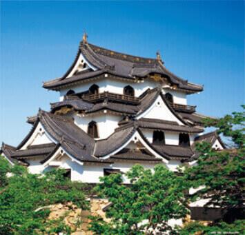 5-6月 彦根城(滋賀) 日本の名城 2022年カレンダーの画像
