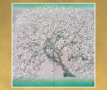 1-2月 白梅 花鳥諷詠 2022年カレンダーの画像