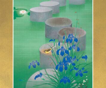 5-6月 涼風(部分) 花鳥諷詠 2022年カレンダーの画像