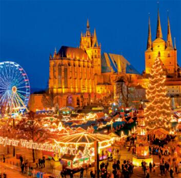 11-12月 エアフルト ドイツ ワイドヨーロッパ(フィルムカレンダー) 2022年カレンダーの画像