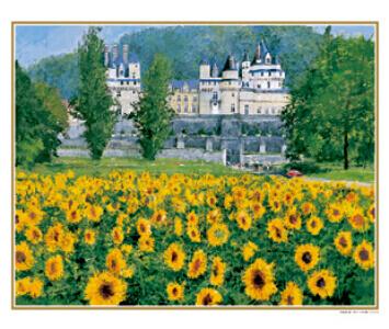 7-8月 ロワールの城 フランス ヨーロッパの印象(フィルムカレンダー) 2022年カレンダーの画像