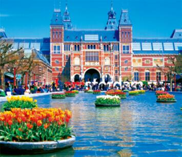 3-4月 アムステルダム国立公園 オランダ 世界の名勝(フィルムカレンダー・小) 2022年カレンダーの画像
