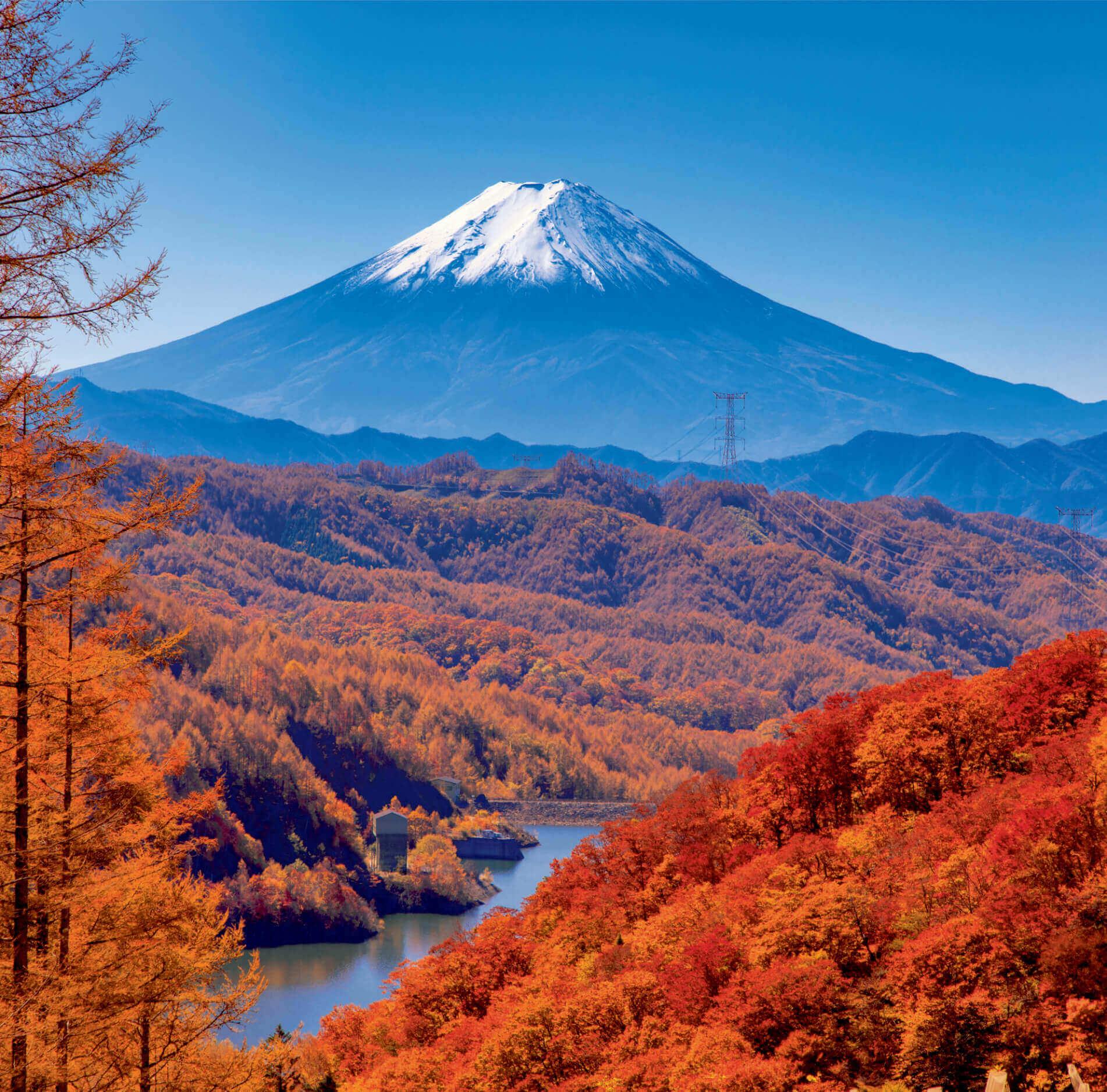 9-10月 大菩薩峠より(山梨) 富士山(フィルムカレンダー) 2022年カレンダーの画像