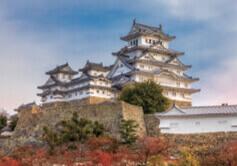 10月 姫路城 日本 魅惑の世界遺産 2022年カレンダーの画像