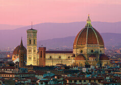 1月 フィレンツェ歴史地区 イタリア 魅惑の世界遺産 2022年カレンダーの画像