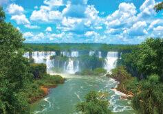 8月 イグアス国立公園 アルゼンチン・ブラジル 魅惑の世界遺産 2022年カレンダーの画像