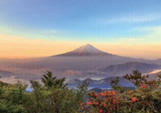 6月 新道峠より富士山(山梨) 天地自然・森田敏隆写真集 2022年カレンダーの画像