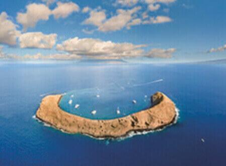1月 ハワイ モロキニ島 アメリカ スカイジャーニー 2022年カレンダーの画像