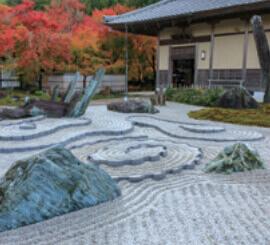 11月 圓光寺(京都) 庭の詩情 2022年カレンダーの画像