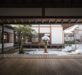 1月 原光庵(京都) 庭の詩情 2022年カレンダーの画像