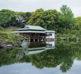 5月 清澄庭園(東京) 庭の詩情 2022年カレンダーの画像