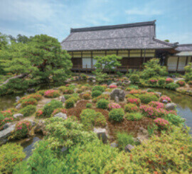 6月 等持院(京都) 庭の詩情 2022年カレンダーの画像