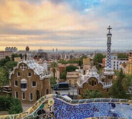 4月 バルセロ スペイン ファンタジーワールド(A) 2022年カレンダーの画像