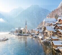 12月 ハルシュタット(オーストリア) ファンタジーワールド(B) 2022年カレンダーの画像