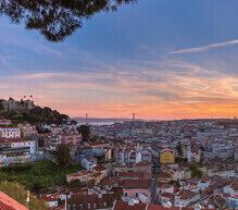 2月 リスボン(ポルトガル) ファンタジーワールド(B) 2022年カレンダーの画像